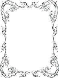 Holiday Page Border Template Paper Templates Printable Sample