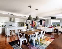 Open Living Room And Kitchen Designs