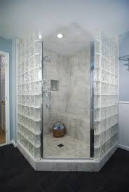 Glass Blocks Surround This Shower In Semi Privacy #, Block To ... Luxury Bathroom Ideas Rightmove Wodfreview Glass Block Shower Design For Small How To Door And Extra Light Rhpinterestcom Universal Good Looking Decoration Using Remodel With Curved Barrier Free Walk Tile Basement Clipgoo Window Best 25 Photos From Ateam Gbw Companies Innovative Decorating Idea Beautiful 7 Myths About Showers