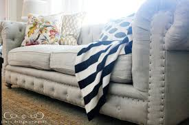 tufting and nailheads and linen oh my jones design company