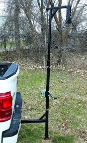 Cheap Truck Game Hoist, Find Truck Game Hoist Deals On Line At ... Vestil Winch Operated Truck Jib Crane Up To 2k Lb Capacity Wtj4 2 In 1 Deer Hoist Skinner Redneck Blinds Guide Gear Deluxe And Gambrel Swivel Hitch Lift System Amazoncom Big Game Fixed Mount 300 Winch Irrigating Extendatruck 2in1 Load Support Mikestexauntfishcom Patent Us7544032 Hoist For An All Terrain Vehicle Google Portable Skning Tripod With Walmartcom Pulley Receiver Hitch Deer Hoist Battle Armor Designs Kill Shot Hitchmounted Ecotric 400lb Hunting
