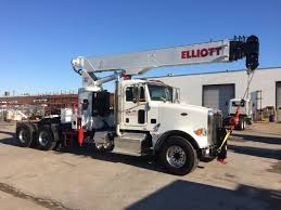 Elliott Boom Truck Packages - BIK Hydraulics