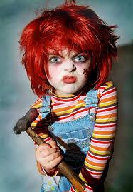 Chucky Halloween Mask by Baby Chucky Halloween Costume