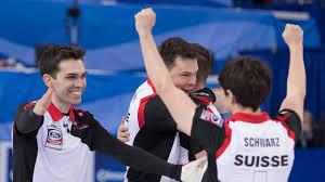 100 Peter De Cruz Swiss Skip De Tops American Shuster For World Curling Bronze