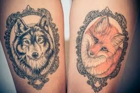 Best Wolf Tattoos Designs 75 76