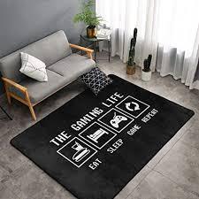 jingclor the gaming area teppiche schlafzimmer wohnzimmer küche matte rutschfeste bodenmatte türmatte kinderzimmer kinderspielteppich
