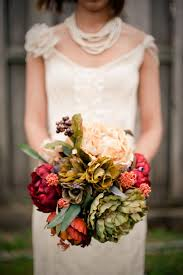 Gorgeous Silk Flower Bouquet Photograph By Melissa Jordan Photography Storyboardwedding