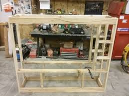 Rustic Pallet Wood Entertainment Center TV Stand Rack