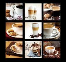 home décor acrylglasbilder bild deko glas glasbild kaffee