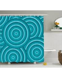 Teal Color Bathroom Decor by Here U0027s A Great Deal On Teal Decor Shower Curtain Set Abstract