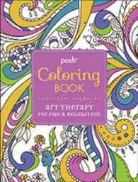 Posh Coloring Boo By Michael OMara Books Limited COR Davies Hannah ILT Merritt Ric