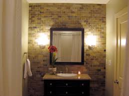 Small Half Bathroom Ideas Photo Gallery by Bathroom Elegant Half Bath Minus The Tile Wall Reality Home
