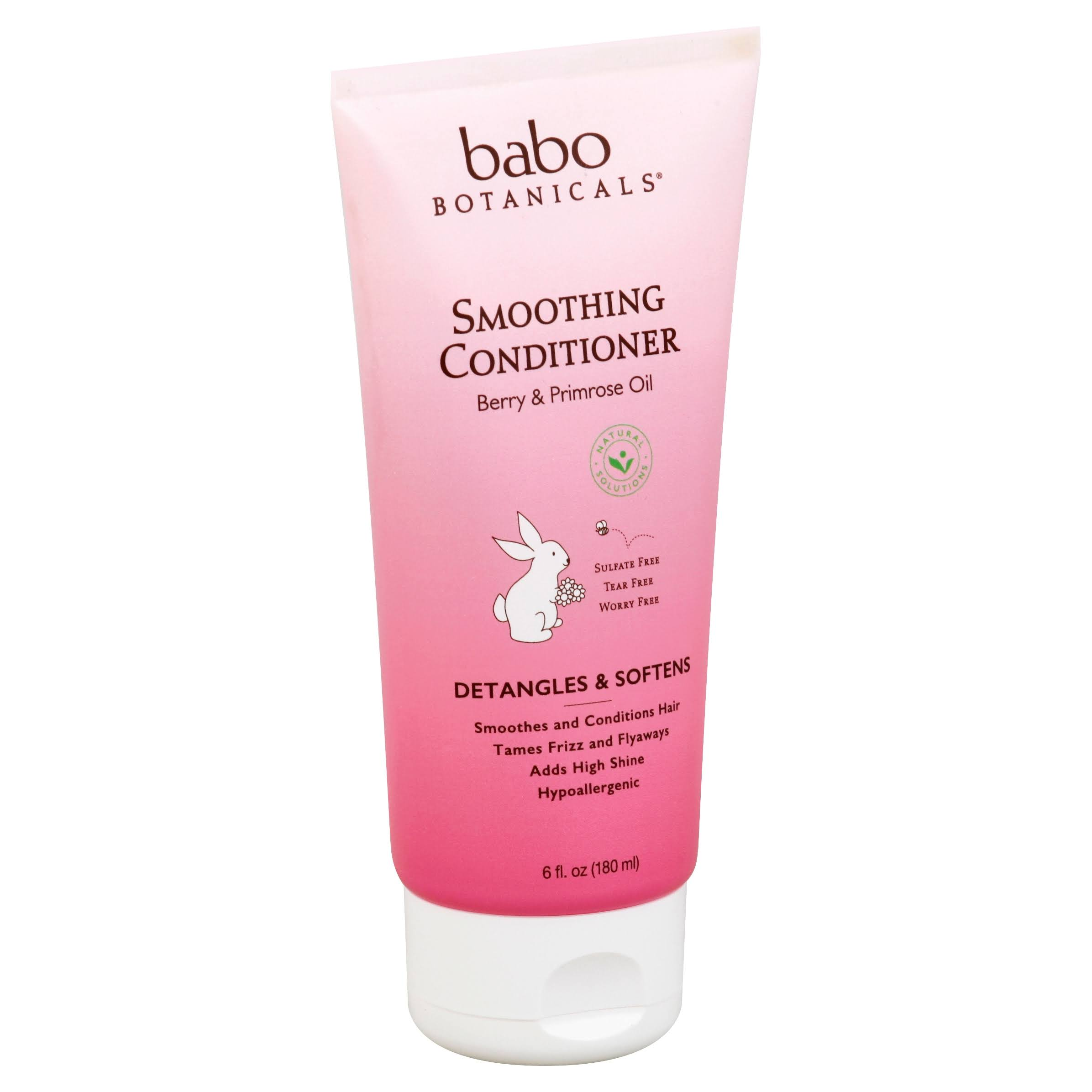 Babo Botanicals Smoothing Conditioner - Berry and Primrose, 6oz