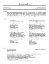 Surgical Tech Resume Sample Technician Resumes Samples