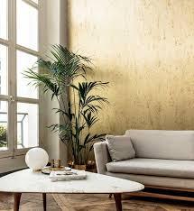 metalltapete kaufen luxus metallltapeten in gold silber u