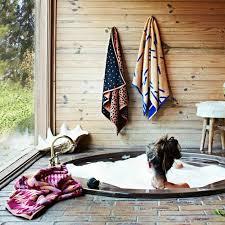Interessane Gestaltung Eingelassene Badewanne Hölzerne Bretter Eingelassene Badewanne Design Mädchen Erholt Sich Ordner 1