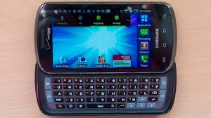 Verizon s only LTE QWERTY phone hands on with the Samsung
