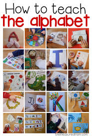 How To Teach The Alphabet Toddlers And Preschoolers