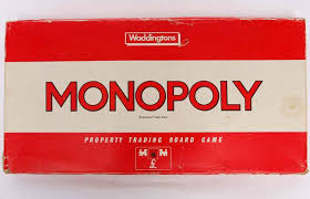 1939 Monopoly The Famous Board Game Was Patented In 1930s And Is One