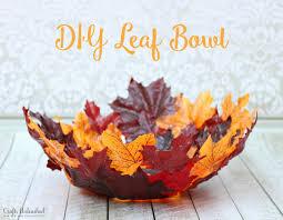 Leaf Bowl DIY Tutorial Crafts Unleashed 0