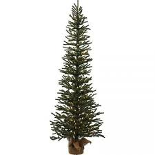 Vickerman 2 Gold Artificial Christmas Tree With 120 Warm White LED Lights