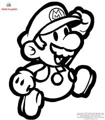 Mario Bros Coloring Pages Of Disney Characters To PrintFree