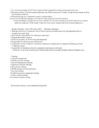 Logistics Manager CV Template Example Job Description Supply Distribution