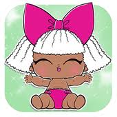 Lol Surprise Eggs Dolls Lil Luxe Baby Games Icon