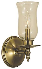 sheraton 1 light wall sconces antique brass traditional wall