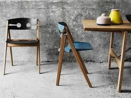 meuble bambou design chaises pliantes et table à manger we