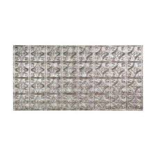 24x24 Pvc Ceiling Tiles by Silver Pvc Ceiling Tiles Ceilings The Home Depot