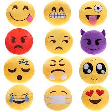 smiley bureau 1 pcs 32 cm emoji oreiller émoticônes smiley peluche coussin jouet