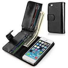 Amazon Navor Flip Wallet Book Case [Removable Wrist Strap