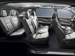 Dodge Durango Captains Seats by 10 Suvs With Second Row Captain U0027s Chairs Autobytel Com