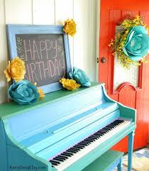 Birthday Party DIY Paper Flowers On EverythingEtsy