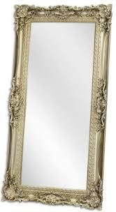 casa padrino barock spiegel silber 88 x h 178 cm garderoben spiegel wohnzimmer spiegel prunkvoller wandspiegel im barockstil