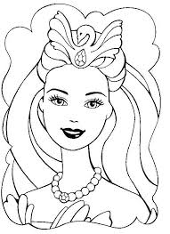 Beautiful Barbie Coloring Pages For Girly Girls