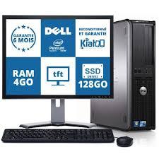 ordinateur de bureau dell optiplex 780 intel dual 4go ram