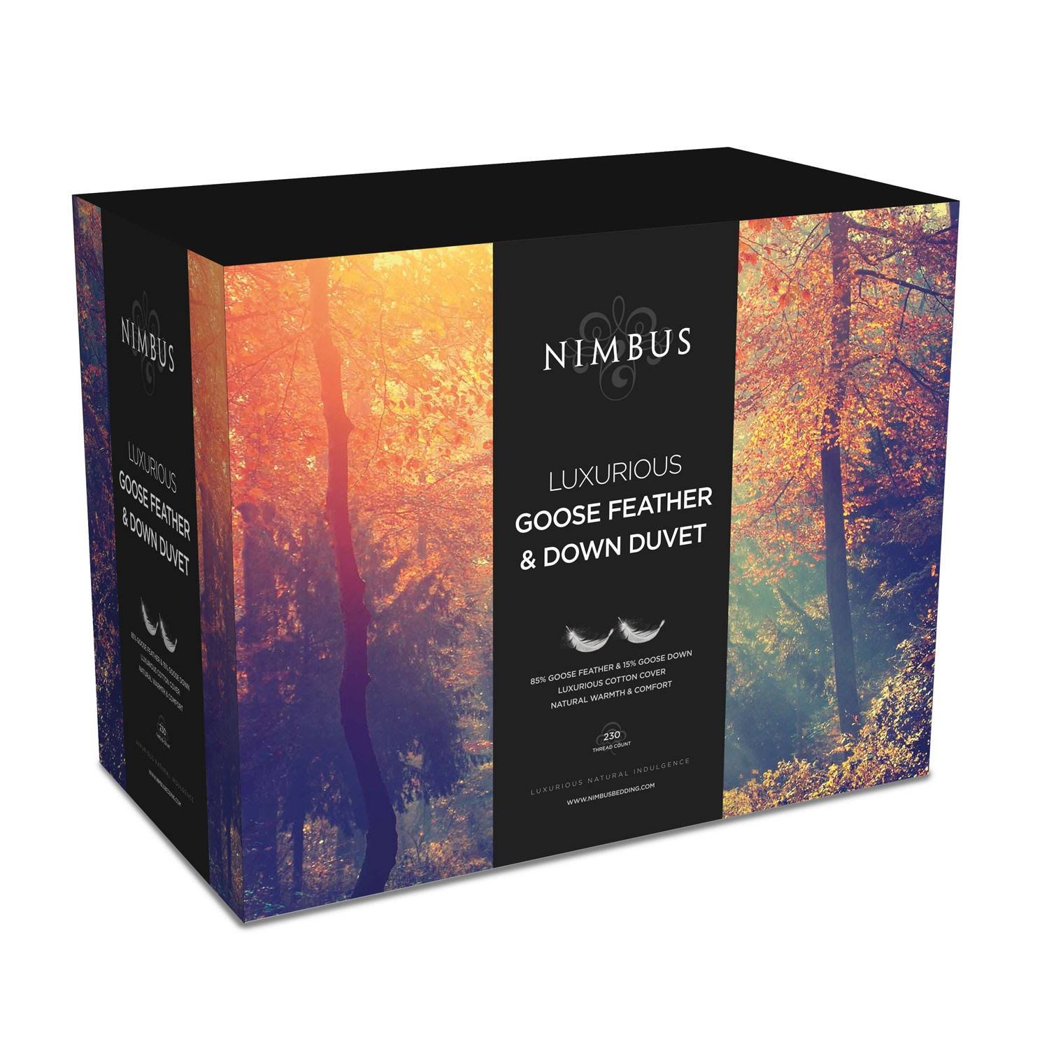 Nimbus - Goose Feather & Down Duvet - 10.5 Tog - King