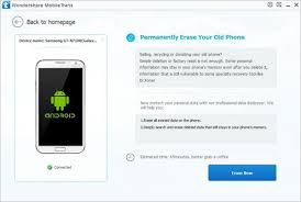 Erase Android data before selling