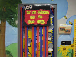 Classroom Door Christmas Decorations Ideas by 100th Day Bulletin Board And Decoration Ideas
