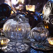 Blown Glass Pumpkins Boston by The Cheap Diva Home Decor And More