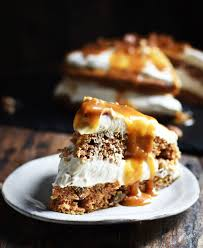 Low Carb Carrot Cake with Maple Pecan Cheesecake Simply So Healthy