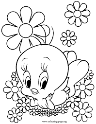 Printable 36 Cool Flower Coloring Pages 7718