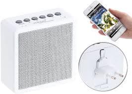 auvisio radio badezimmer ukw steckdosenradio mit bluetooth freisprecher usb ladeport aux in radio badezimmer steckdose