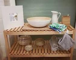 holzbank badezimmer ausstattung und möbel ebay kleinanzeigen