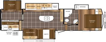 Travel Trailer Floor Plans Rear Kitchen by New Or Used Fifth Wheel Campers For Sale Rvs Near Statesville