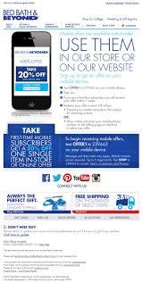Bed Bath Beyond Application by 45 Best Email Design Mobile Images On Pinterest Email Design