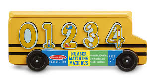 100 Cool Math Truck Loader Amazoncom Melissa Doug Number Matching Bus Educational