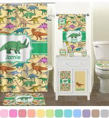 Chevron Print Bathroom Decor by Dinosaurs Full Print Bath Towel Personalized Potty Training